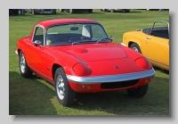 Lotus Elan S3 1968 SE Coupe front