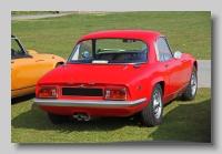 Lotus Elan S3 1968 SE Coupe rear