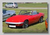 Lotus Elan S3 1970 Drophead front