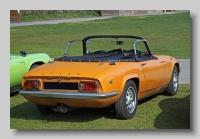 Lotus Elan S4 1970 DHC rear