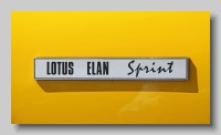 aa_Lotus Elan S4 Sprint 1971 DHC badge