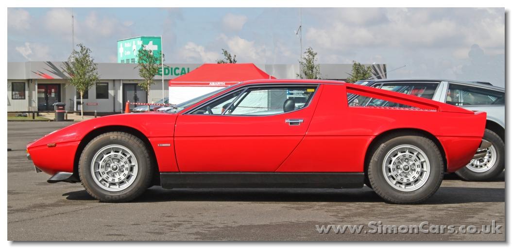 Maserati Merak SS side - Maserati Merak SS. The Merak, like the Bora ...