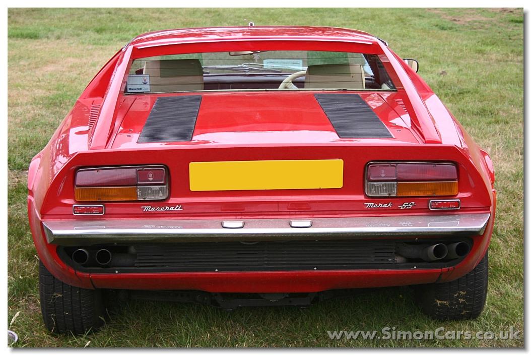 Maserati Merak SS. In 1972, Maserati introduced the Merak, a kind of ...