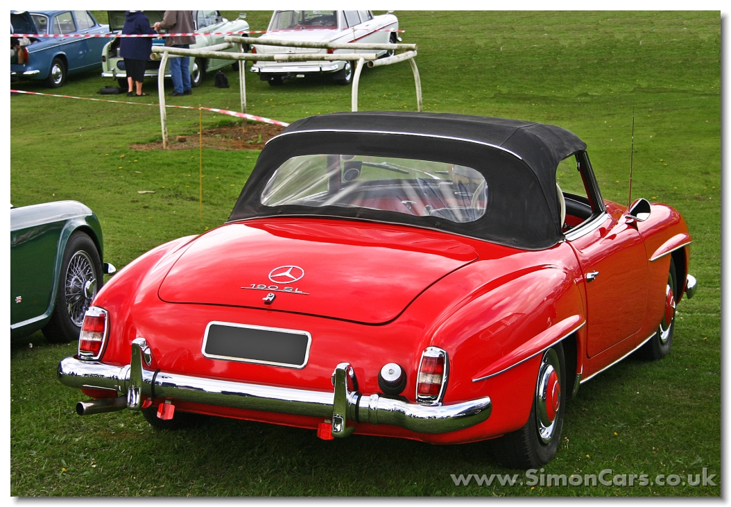 Simon cars mercedes benz 190sl for Mercedes benz walters