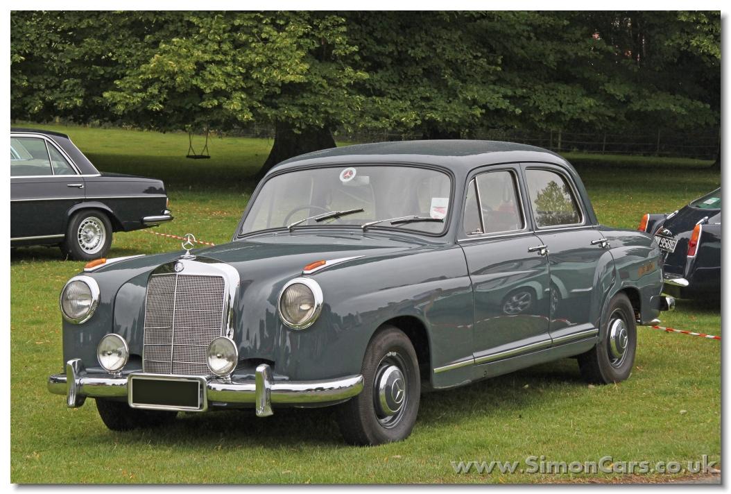 Simon cars mercedes benz ponton 180 190 219 220 for Mercedes benz westminster colorado