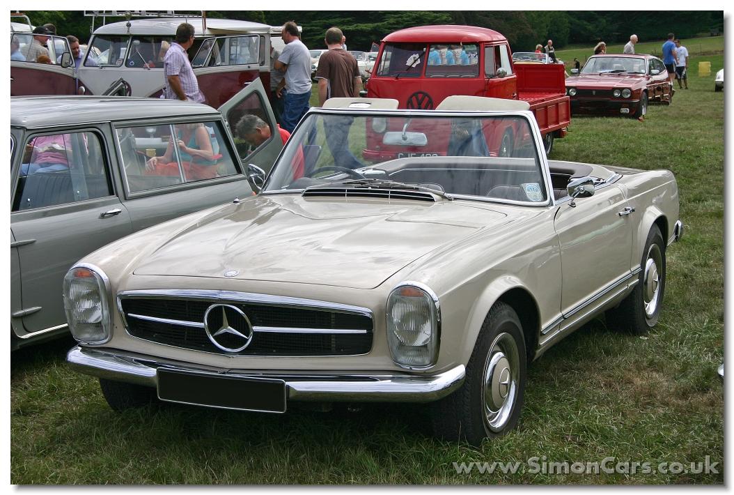 Simon cars mercedes benz 230sl for Mercedes benz 230 sl