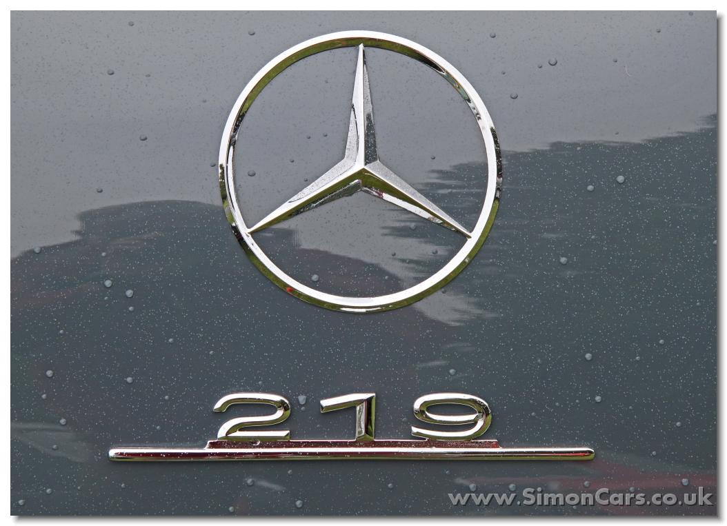 aa_Mercedes-Benz 219 (W105) badge