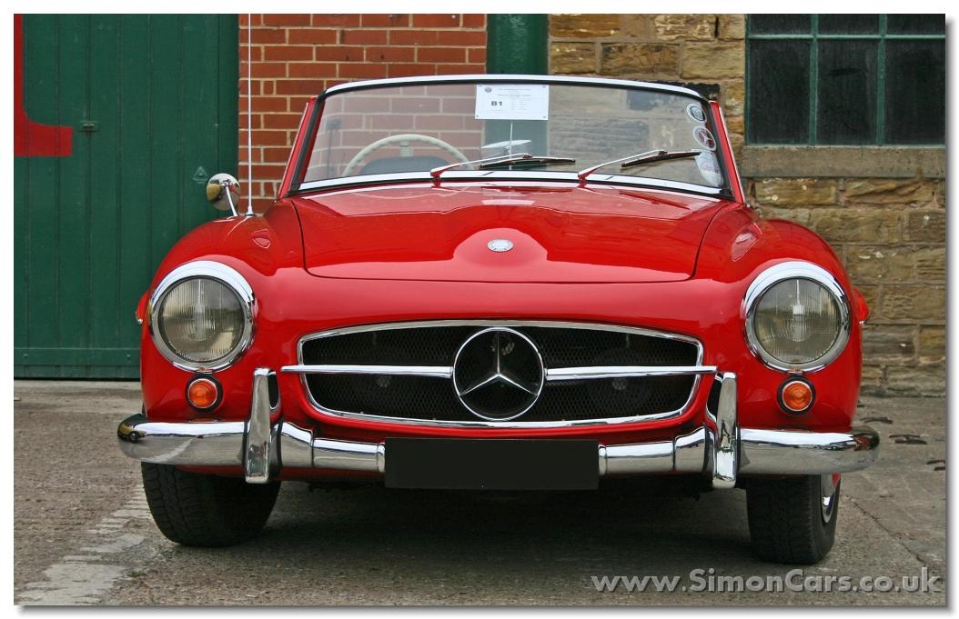 Simon cars mercedes benz 190sl for Walter mercedes benz