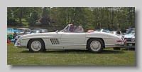 s_Mercedes-Benz 300SL roadster side