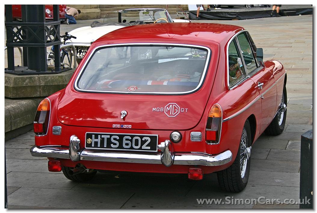 Simon Cars Mg Mgb