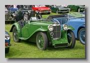 Midget car chassis somewhat similar