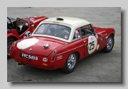 MG MGB FIA rear