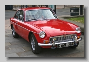 MG MGB GT 1966 front