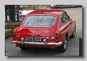 MG MGB GT 1966 rear