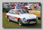 MG MGB GT MkIII 1971 Police
