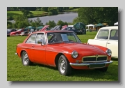 MG MGB GT MkIII 1972 front