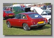 MG MGB GT MkIII 1974 rear