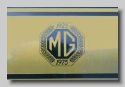 MG MGB GT MkIIIb Jubilee stripe