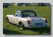 MG MGB MkIII 1972 rear