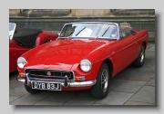 MG MGB MkIIb 1971 front