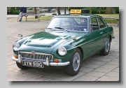 MG MGC GT 1969 front