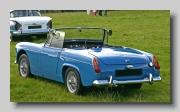 MG Midget MkII rear