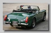 MG Midget MkIII 1972 rear