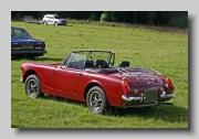 MG Midget MkIII 1974 rear