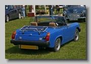 MG Midget MkIIII 1975 rear