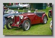 MG TB Midget 1939 front