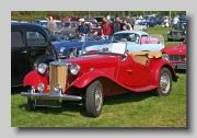MG TD Midget 1951 front