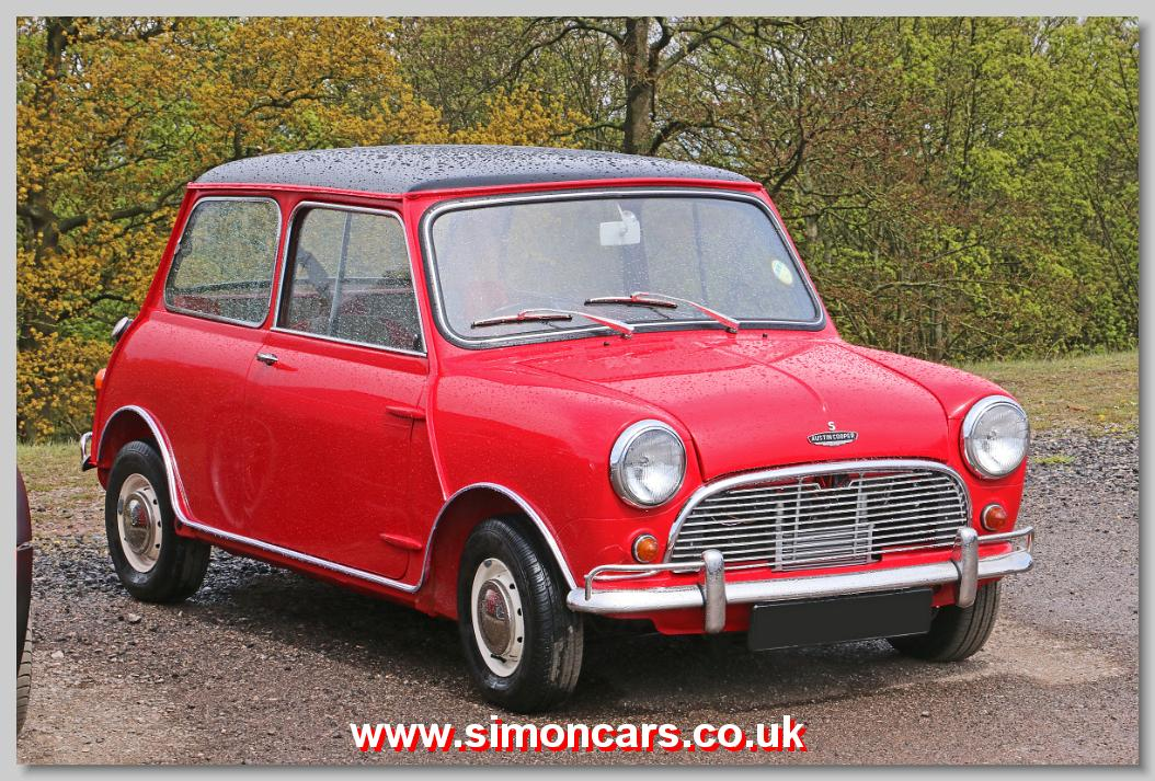 simon cars austin morris mini cooper british classic cars historic automobiles old. Black Bedroom Furniture Sets. Home Design Ideas