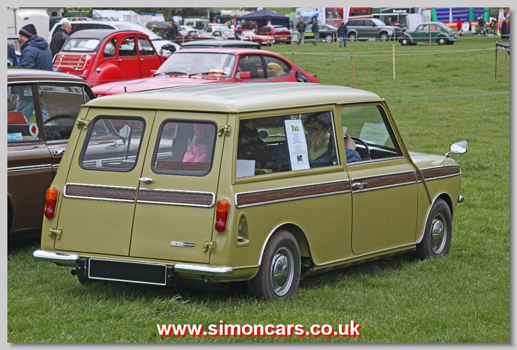 Simon Cars Mini Clubman Ado 20 British Classic Cars Historic