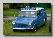 Austin Mini ¼ton Van front