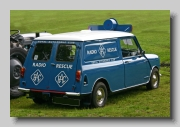 Austin Mini ¼ton Van rear