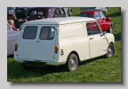 Austin Mini Van 1970 rear