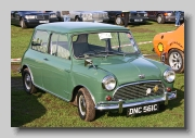 Austin Mini front 1965
