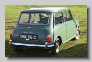 Austin Mini rear 1965