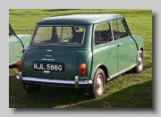 Morris Mini Minor rear 1967