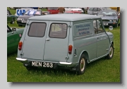 Morris Mini Van 1960 rear