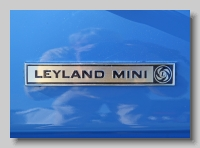 aa_Leyland Mini 1275 S 1977 badge
