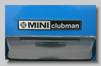 aa_Mini Clubman 1980 badge