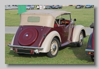 Morris Eight 1939 Series E Tourer rearr