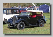 Morris Eight, Pre-Series and Series I