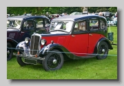 Morris Eight Series I 4-door front