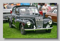 Morris Six Police Car front