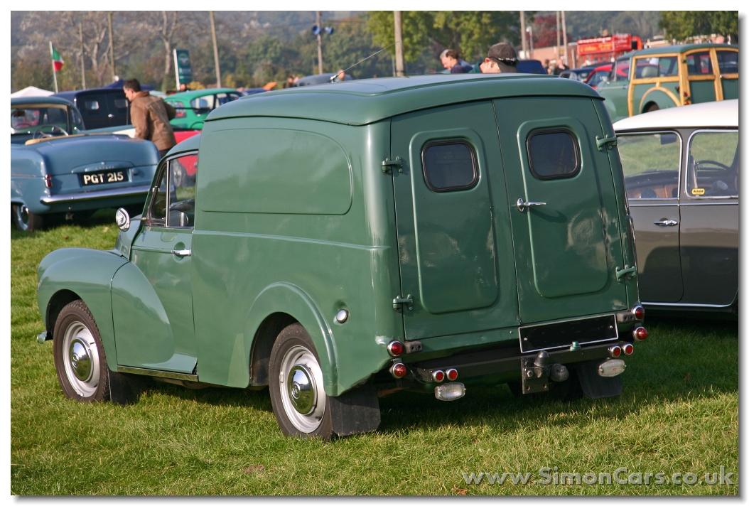 Morris Minor Van Rear Door Window