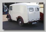 Austin 101 Van 1957 rear