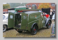 Morris Eight Series Z Van 1942 rear