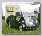 Morris J-type Van coachbuilt